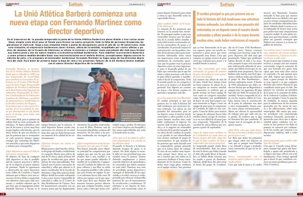 Independent de Barbera Nº297